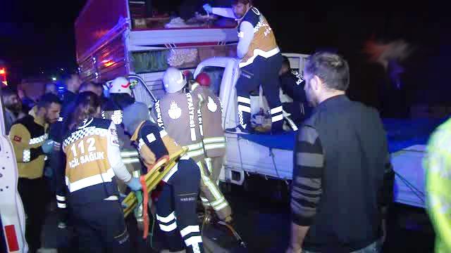 Esenler'de trafik kazasında bir kişi yaralandı