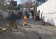 Renault Acar Terazidere şirket içi yangın tatbikatı yaptı