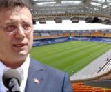İmamoğlu başkan olunca Fatih Terim Stadı'nın Bakanlığa devredilmesi istendi