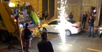Esenler'de vatandaşlardan temizlik görevlilerine sürpriz