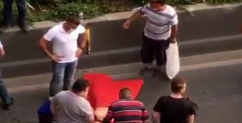 Esenler'de su satan çocuğa otomobil çarptı