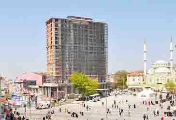 AKP'li Esenler Belediyesi, usulsüz inşaatın sürmesine seyirci kaldı