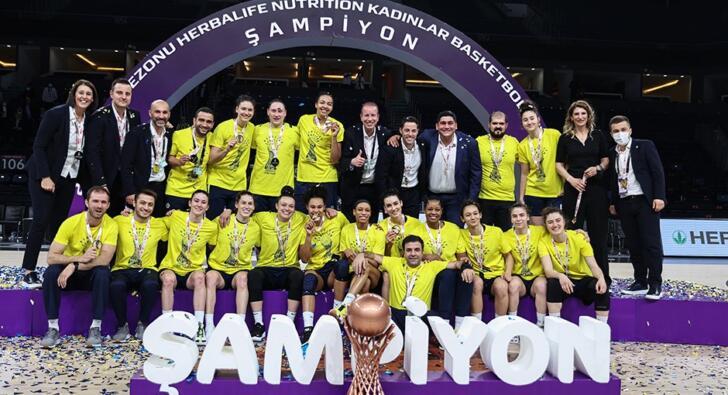 Fenerbahçe namağlup şampiyon oldu