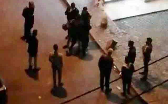 Esenler'de bekçilere zorluk çıkaran şahıs gözaltına alındı