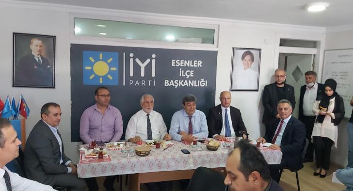 İyi Parti Kayseri Milletvekili Dursun Ataş,