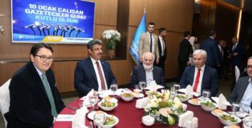 Başkan Karadeniz Gazeteciler Günü'nde Basın Mensuplarıyla Yemekte Buluştu!..
