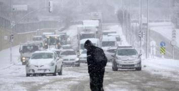 Kar yağışı İstanbul'u yarın terk edecek?