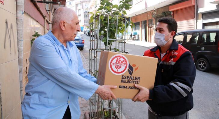Esenler Belediyesi'nden çölyak hastalarına glütensiz gıda desteği