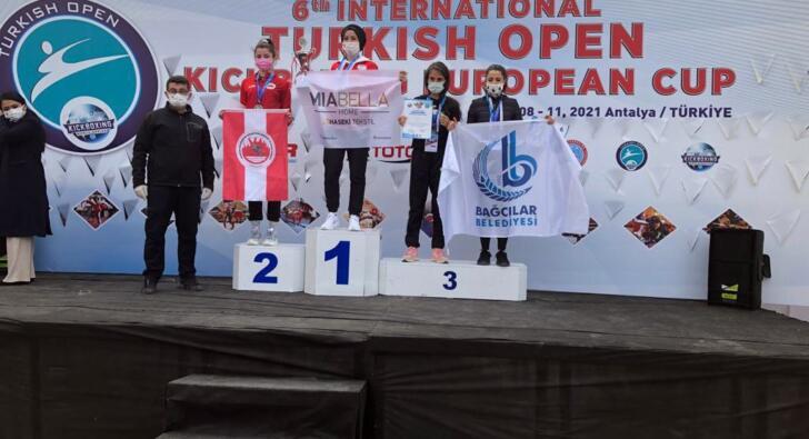 Türkiye Açık Kick Boks Avrupa Kupası'nda birincilik Bağcılar'ın