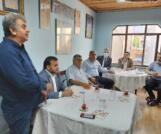 Esenler Trabzonlular Derneği muhtarlarla kahvaltıda bir araya geldiler
